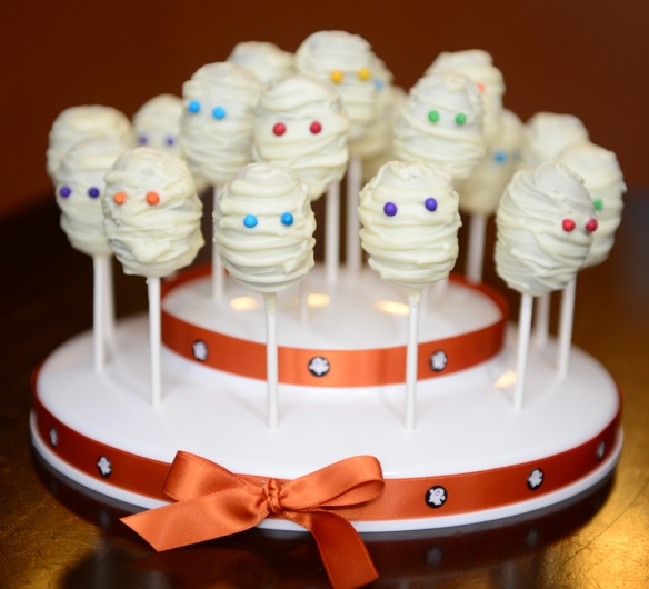Cake Pop Momies