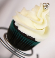 Mini cupcake chocolat