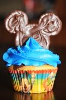 Cupcake Disney Bleu