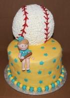 Gâteau Baseball