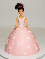 Gâteau de barbie