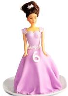 Mini gâteau barbie
