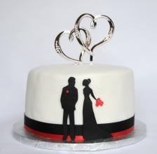 Gâteau pour Shower de mariage